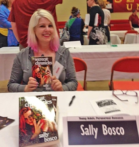 Sally Bosco book signing SHU small